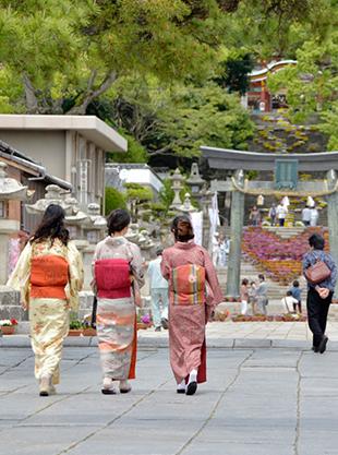 和とエコで幸せます 〜着物でまち歩き〜