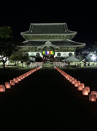ほうふ千年の灯りめぐり「周防国分寺」
