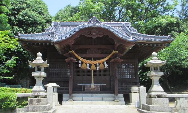 防府 天御中主神社(車塚妙見神社)
